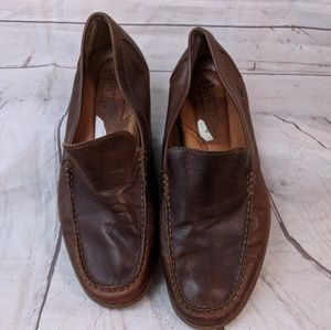 Born BOC Harmon Brown Slip On Loafers
